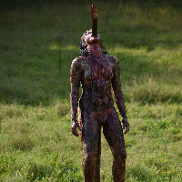 Cannibal Holocaust Impaled Girl - 09