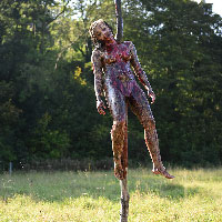 Cannibal Holocaust Impaled Girl - 12 - Alternative Version