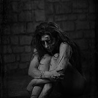 The Suffering 019 BW - Isolated