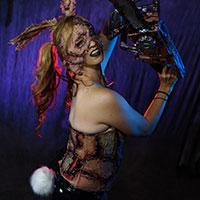 Texas Chainsaw Bunny