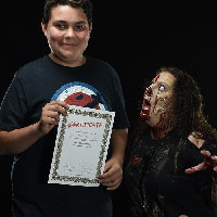 Horrify Me Zombe Makeup Training Day - Jay 1