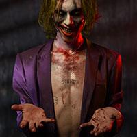 Joker - Green Hair - Send in the Clown