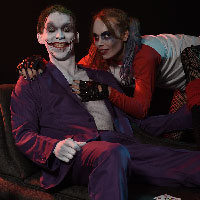 The Joker and his Harlequin