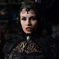 Gothic Vampire at Horror Con 2019