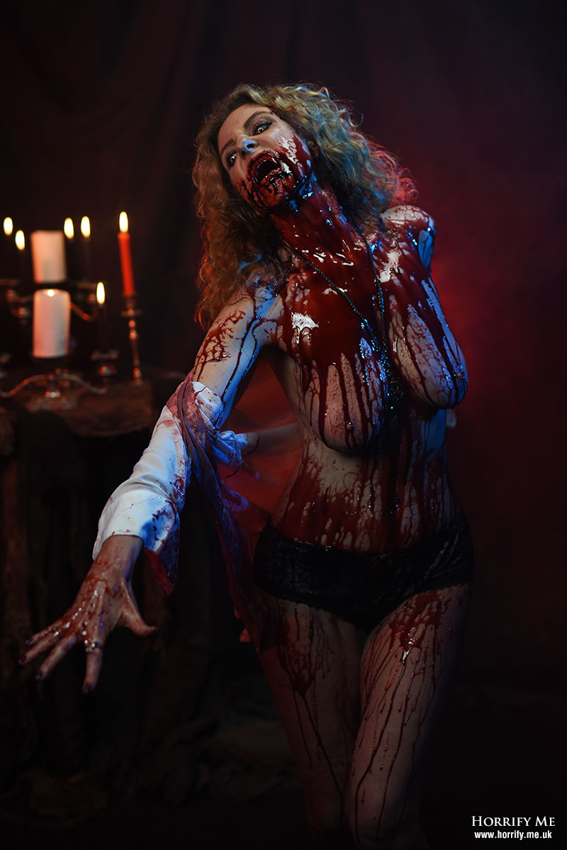Click to buy print - Her Lust for Blood