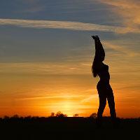 Kaytie at Sunset