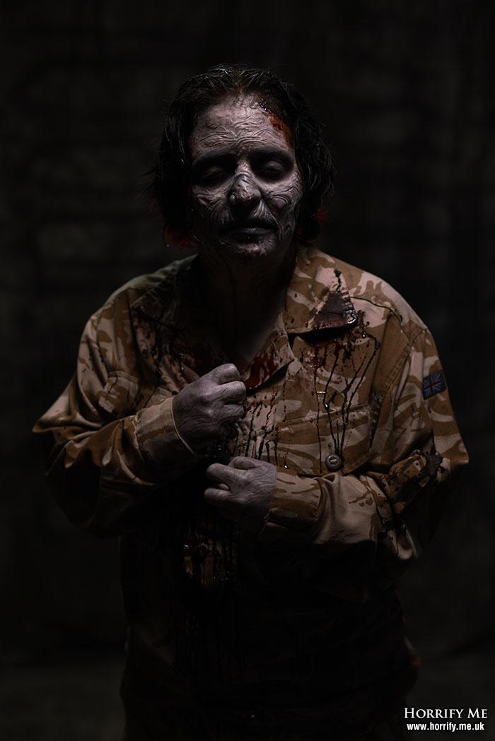 Click to buy print - Walker in the Dark