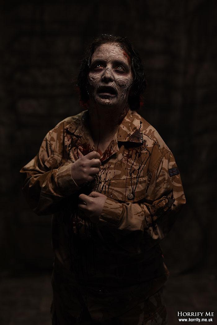 Click to buy print - Zombie Nightmare