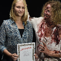 Horrify Me Zombe Makeup Training Day - Kimberley 1
