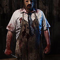 Exhibit D2 - Leatherface with Hammer