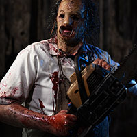 Exhibit D1 - Leatherface with Chainsaw
