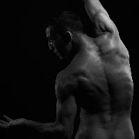Male Nude - The Arch