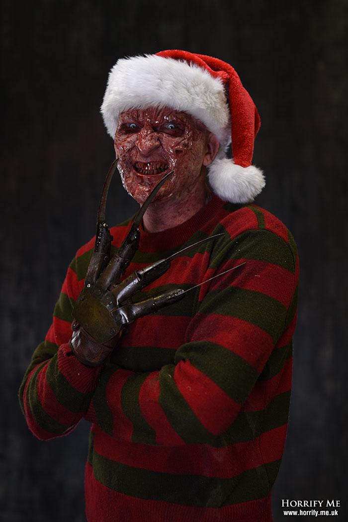 Click to buy print - Festive Freddy