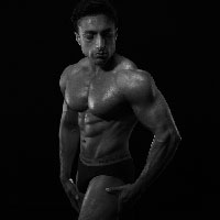 Male Body - BW