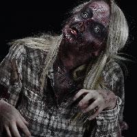 Horrify Me Zombe Makeup Training Day - Abi 2