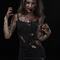 Horrify Me Zombe Makeup Training Day - Yasmin 2