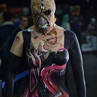 Bodypaint at Horror Con 2019