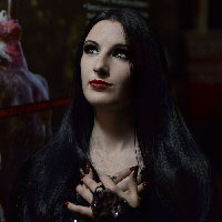 Morticia at HorrorCon 2016