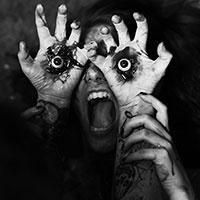 Eyeballs BW
