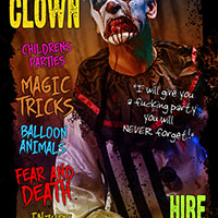 Sickly the Clown Promo Poster