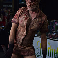Nurse at Horror Con 2019