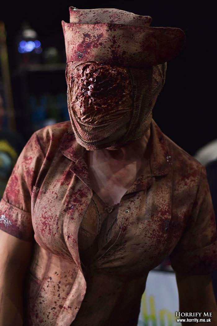 Click to buy print - Nurse at Horror Con 2019