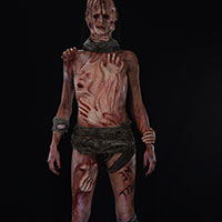 Body of Souls 01 - Front View Makeup