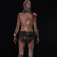 Body of Souls 03 - Back View Makeup