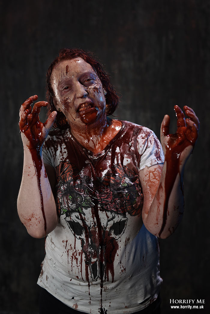 Click to buy print - Bloody Mess
