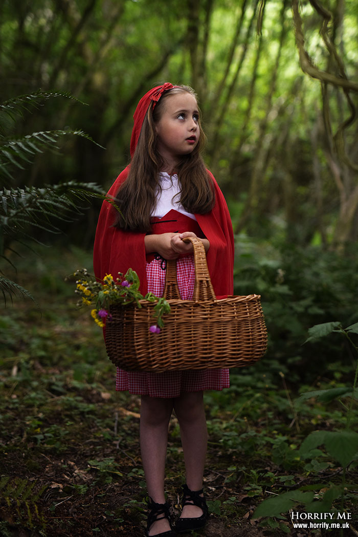 Click to buy print - Red Riding Hood and the Big Bad Wolf 01 - Meet Red