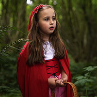 Red Riding Hood and the Big Bad Wolf 02 - On the Way to see Granny