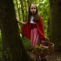 Red Riding Hood and the Big Bad Wolf 04 - She Heard a Sound