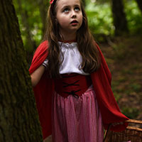 Red Riding Hood and the Big Bad Wolf 07 - Afraid of the Sounds