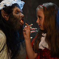 Red Riding Hood and the Big Bad Wolf 17 - What Big Teeth You Have