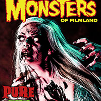 Famous Monsters Cover with Pure Horror
