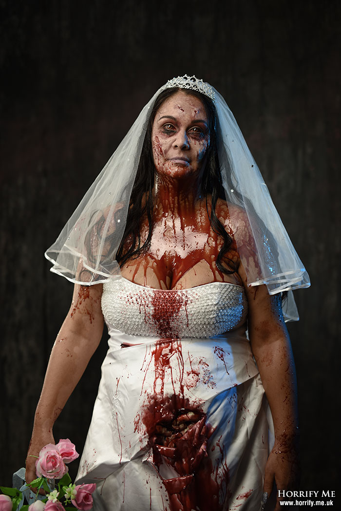 Click to buy print - Bride from Hell