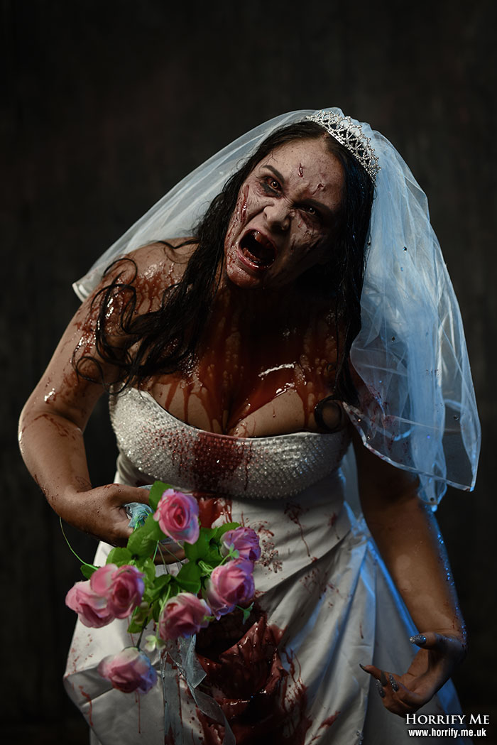 Click to buy print - Angry Bride
