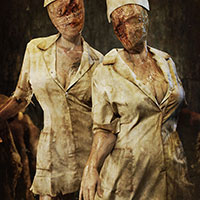 Videogame edit - Silent Hill Nurses