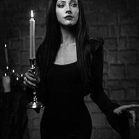 Candle Light BW