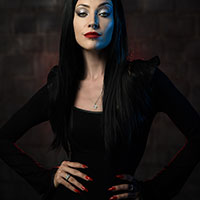 Portrait of a Goth Chick