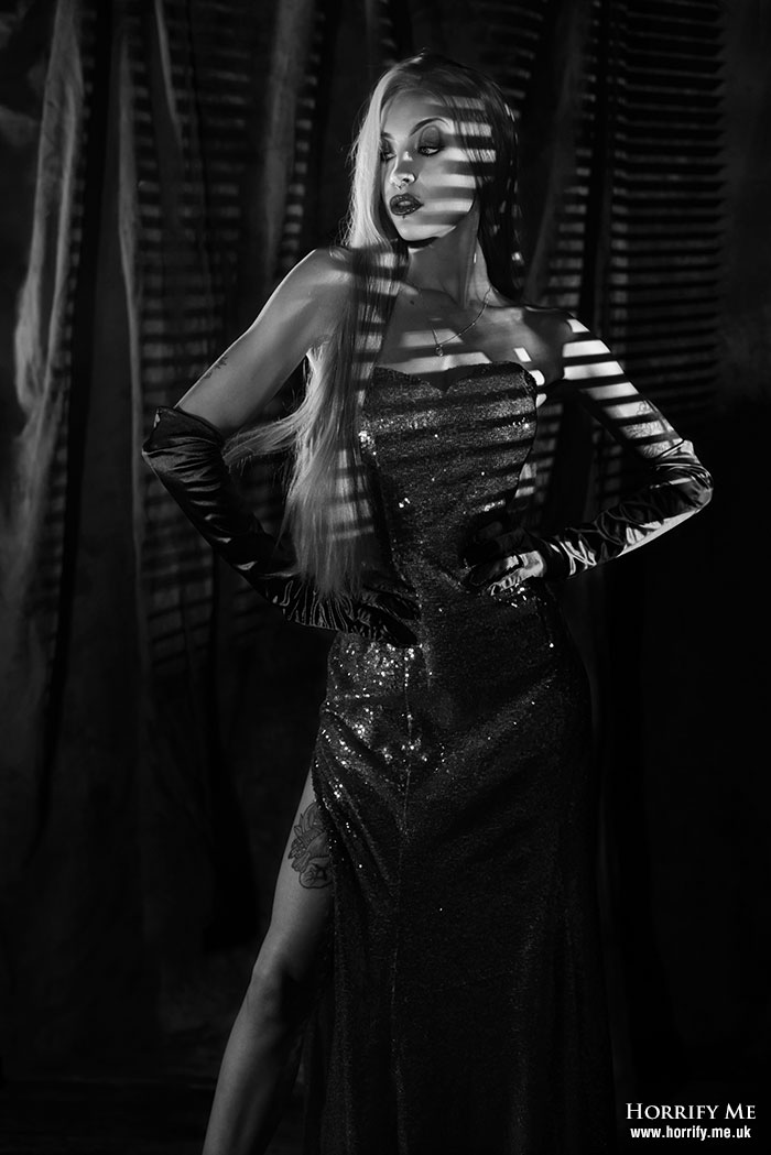 Click to buy print - Shady Business BW