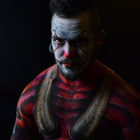 Midland Body Paint Project - HorrorCon 2017