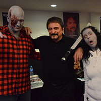 Tom Savini with Horrify Me
