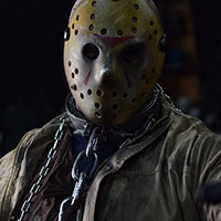Jason Voorhees at Horror Con 2019