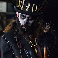 Voodoo Character at Horror Con 2019