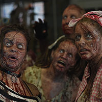 Zombies in the Horrify Me Workshop