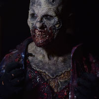Zombie Mask at HorrorCon 2016