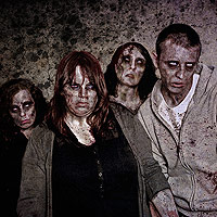 Zombie Group Test Shot