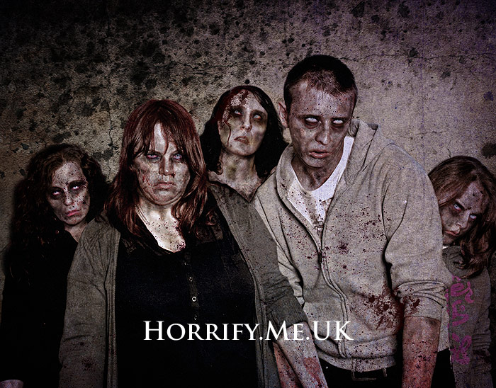 Click to buy print - Zombie Group Test Shot