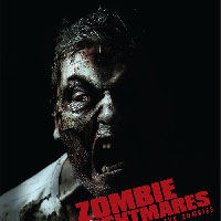 Zombie Nightmares - indie film promo poster - unused